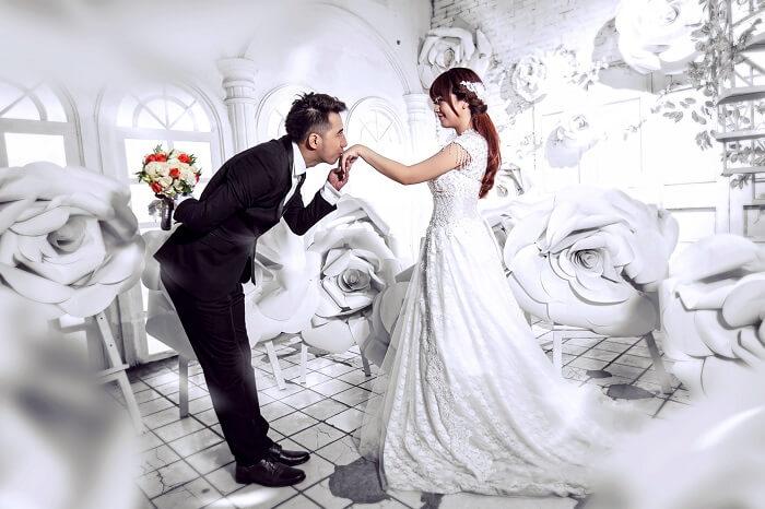 Only C kết hôn - Only C và Ngân Hà