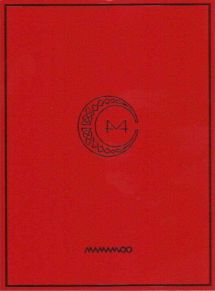 Logo - Ảnh bìa của Album Red Moon - MAMAMOO Album thứ 2 trong chuỗi dự án 4SEASON