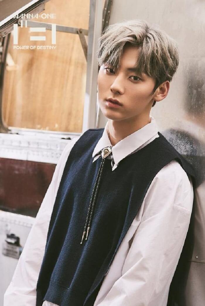 Thông tin, tiểu sử Wanna One Profile: thành viên Minhyun