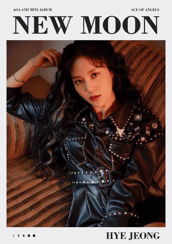 AOA profile đầy đủ thành viên: chiều cao, cân nặng, tiểu sử Hyejeong