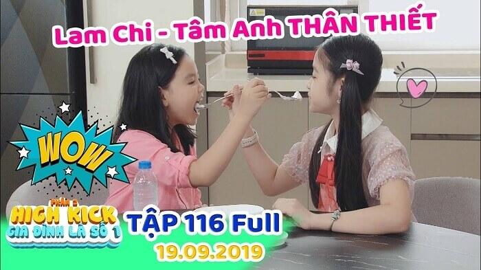 Gia đình là số 1 phần 2 Việt Nam: diễn viên thông tin Tâm Anh - Lam Chi