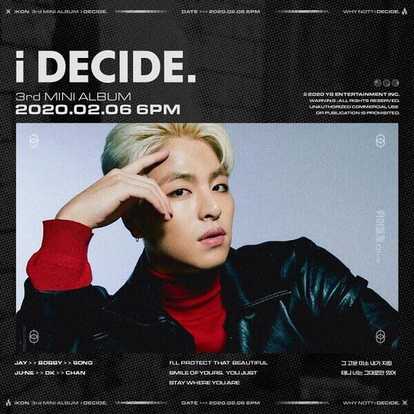 IKON Profile 7 thành viên: chiều cao wiki, bài hát mới nhất JUNE