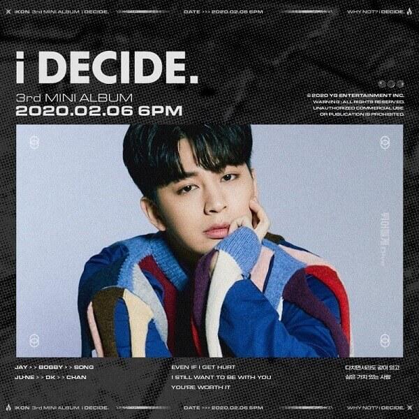 IKON Profile 7 thành viên: chiều cao wiki, bài hát mới nhất SONG