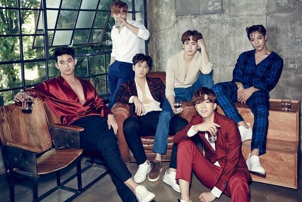 2PM Profile 6 thành viên | Chiều cao, năm sinh, tiểu sử