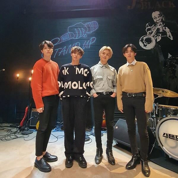 THE ROSE Band profile 4 thành viên: chiều cao, năm sinh, tiểu sử, wiki