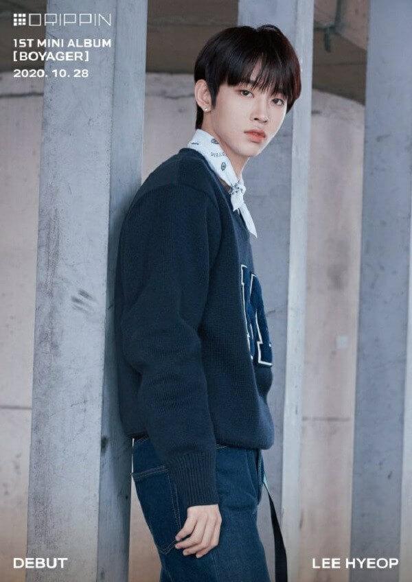 DRIPPIN Profile 7 thành viên: Tiểu sử, chiều cao, năm sinh Hyeop