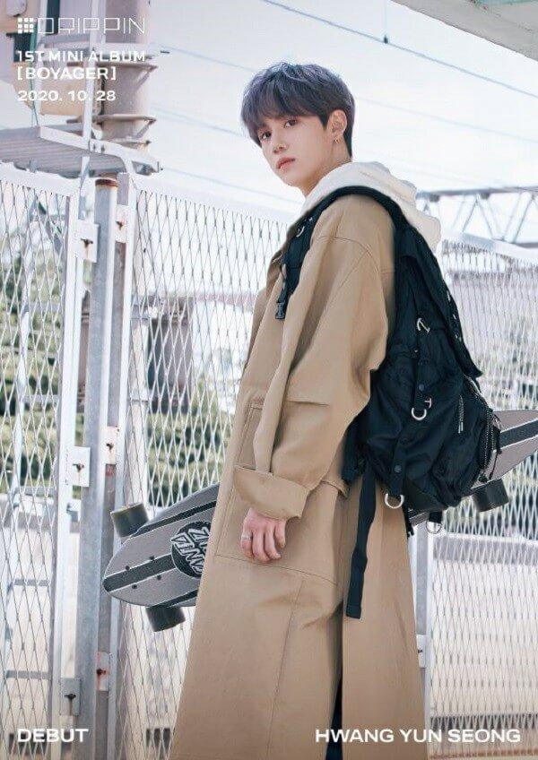 DRIPPIN Profile 7 thành viên: Tiểu sử, chiều cao, năm sinh Yunseong