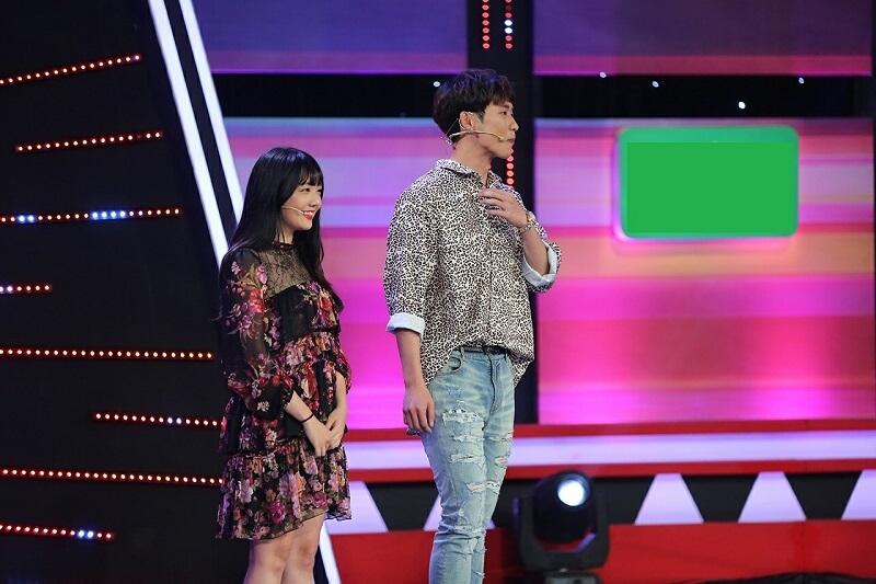Tuấn và Rudya trong gameshow