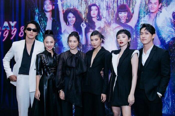 Dàn diễn viên Thanh Sói cùng Ngô Thanh Vân