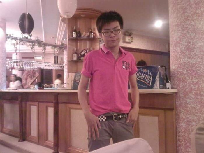 Hình ảnh của Hứa Kim Tuyền lúc nhỏ
