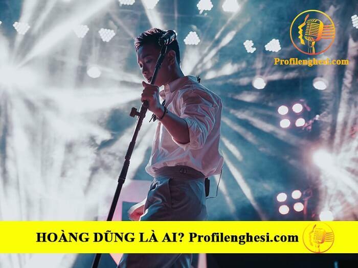 Sự nghiệp ca hát của Ca sĩ Hoàng Dũng The Voice