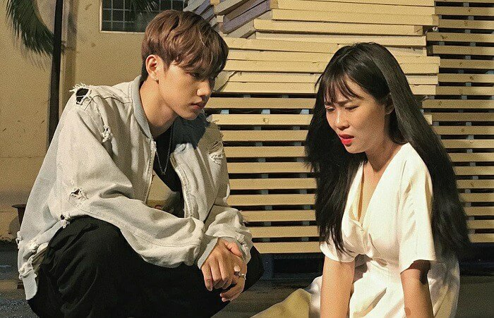 Anh cùng Misthy trong webdrama của Misthy