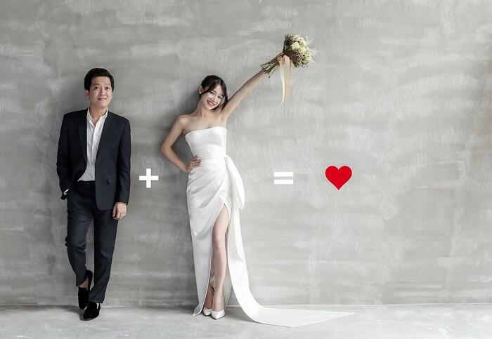 Ảnh cưới của Trường Giang và Nhã Phương