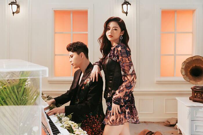 Anh và Liz Kim Cương tình tứ trong MV