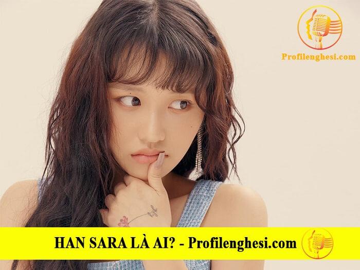 Han Sara khá chăm chỉ làm việc