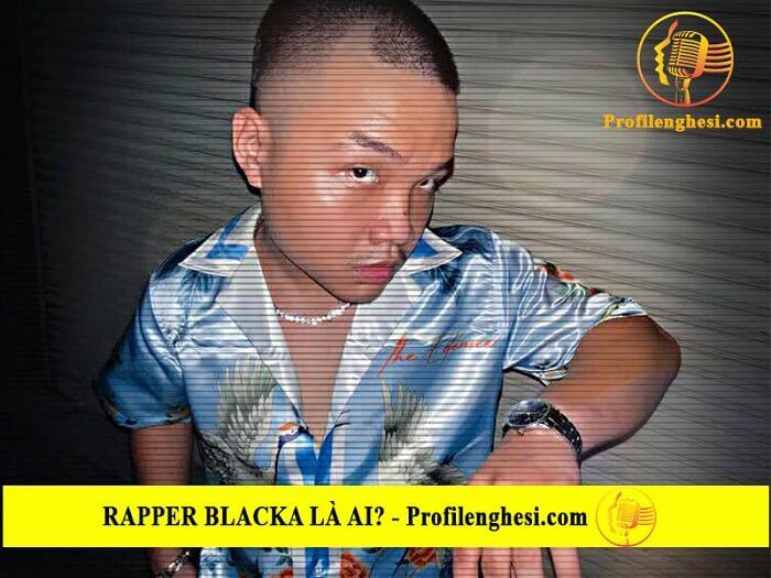 Rapper Blacka có nhiều nguồn cảm hứng khi rap