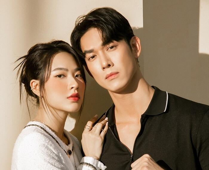 Minh Trang và Song Luân trong phim Cây Táo Nở Hoa