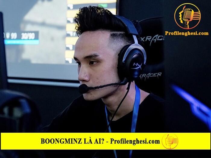 Sự nghiệp của streamer Boongminz