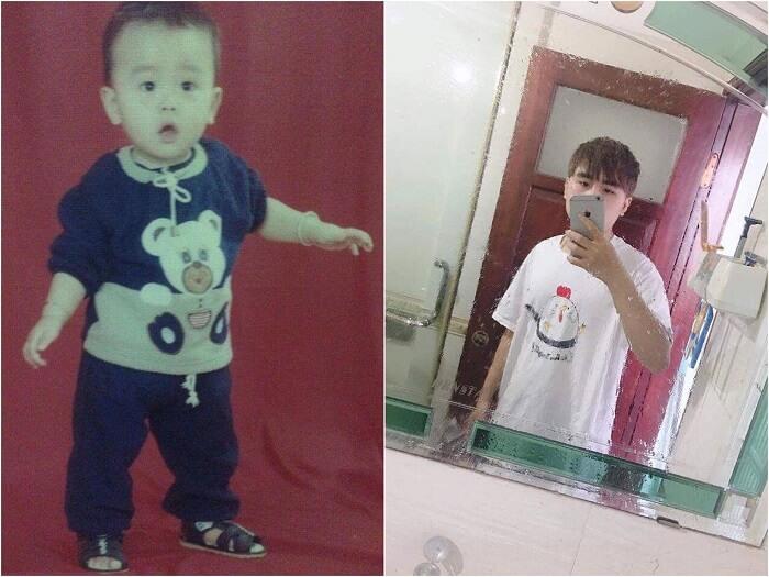 Hình ảnh lúc nhỏ của Jikey