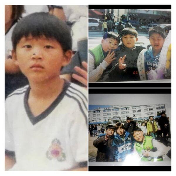 Hình ảnh của Woossi lúc nhỏ đáng yêu